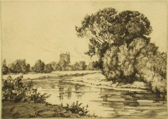 Edith S. Bessell; 'Wye at Hereford'